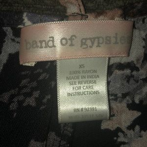 Band of Gypsies Dresses - Band of Gypsies T strap floral maxi dress